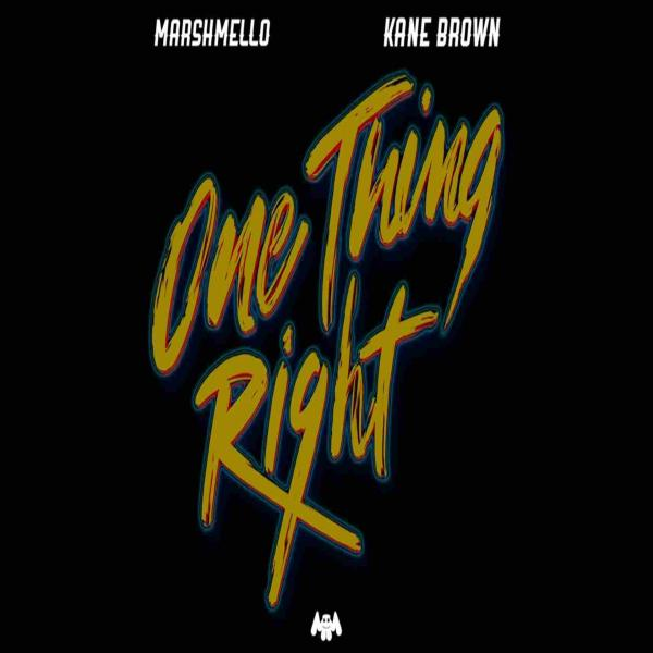 One Thing Right (Firebeatz Remix) by Marshmello ft Kane Brown at Frisk Radio - Dance Music Radio Station